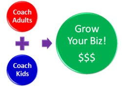 Our coaching kids certification lets you expand your business to coaching kids