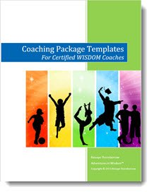 As part of your coaching kids certification your will receive coaching package templates