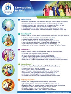 See the 27 Mindset Skills - Life Coaching Program for Kids - Story-based Curriculum