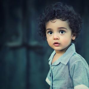 Little boy eyes